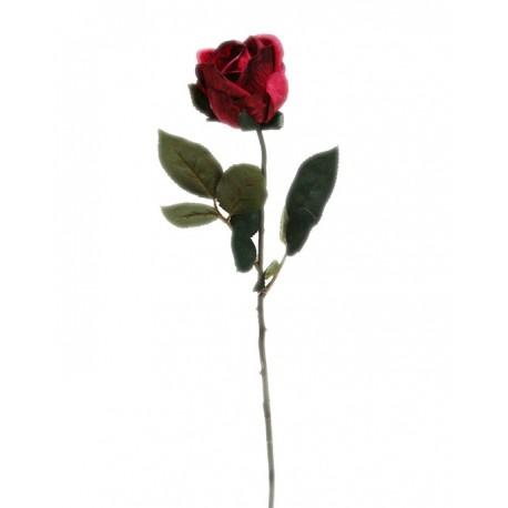 وردة صناعية حمراء